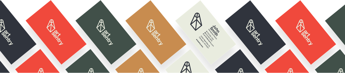 art sentry business cards